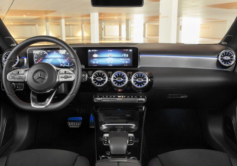 A-Class sedan interior