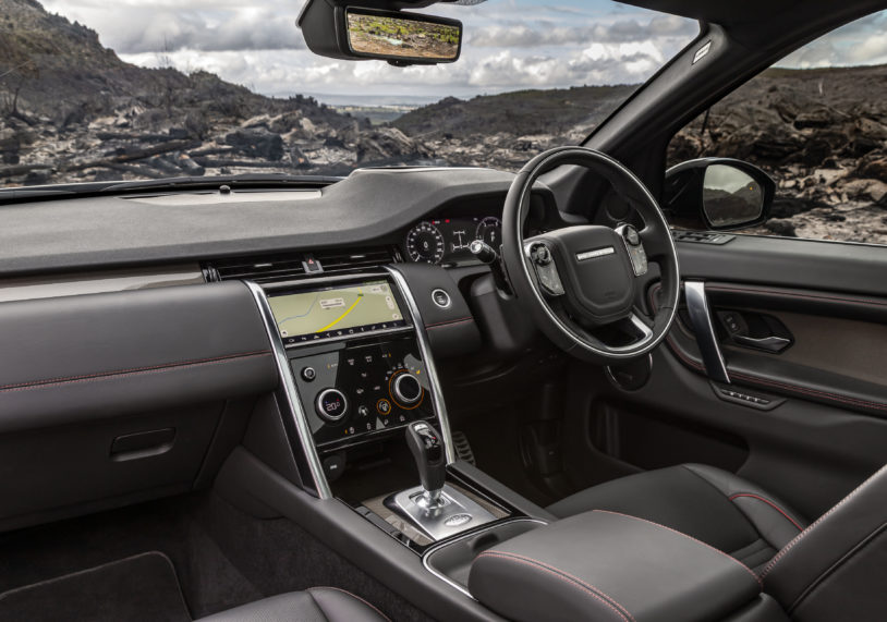 Discovery Sport interior